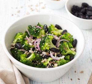 Рецепт салата из брокколи с семечками при сахар диабете