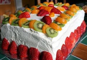 Рецепт приготовления торта без сахара и муки для диабетиков